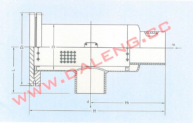 氨气过滤器qg 50-300-大连大冷冷冻机-大连冷冻设备